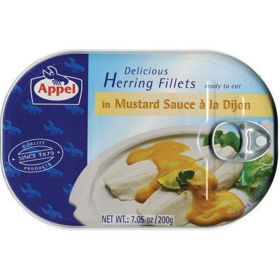 Appel Herring in Dijon Mustard Sauce