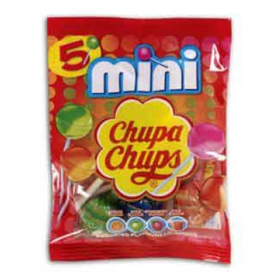 Chupa Chups Mini Chupa 5 Piece Bag