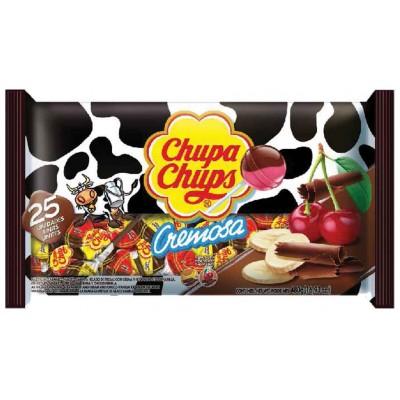Chupa Chups Choco Banana and Choco Cherry Lollipops