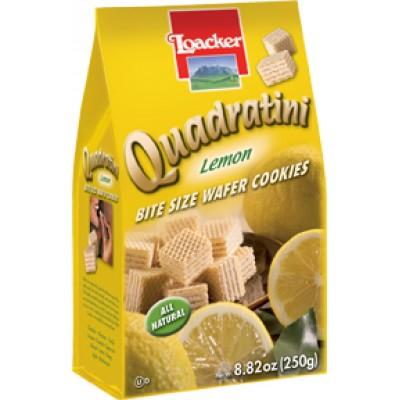Loacker Lemon Wafer Cube Bag