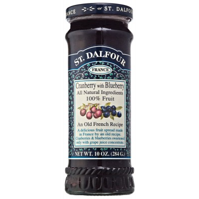 St Dalfour Cranberry & Blueberry Preserve