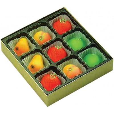 Bergen Marzipan Mixed Fruit Box