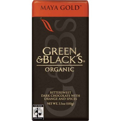 Green & Black Maya Gold Dark Chocolate Organic Bar