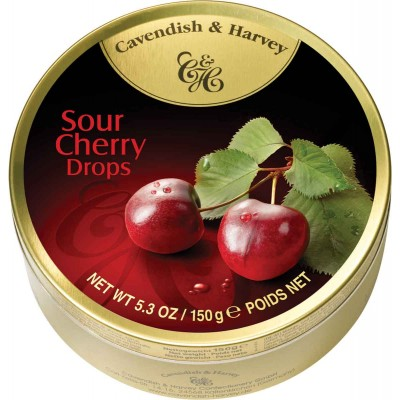 Cavendish & Harvey Sour Cherry Drops