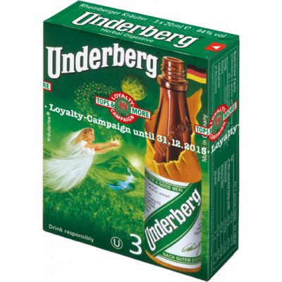 Underberg 3 Bottle Pack