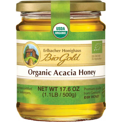 BioGold Organic Acacia Honey