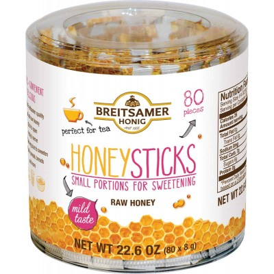 Breitsamer Acacia Honey Sticks Tub