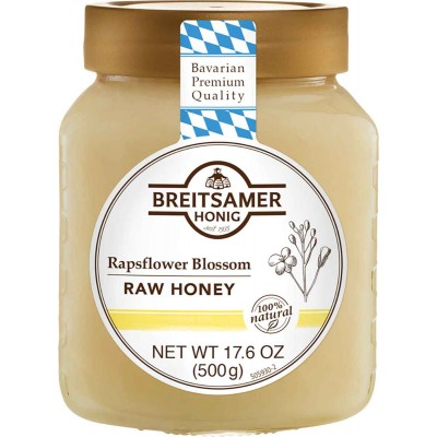 Breitsamer Creamy Rapsflower Honey Jar