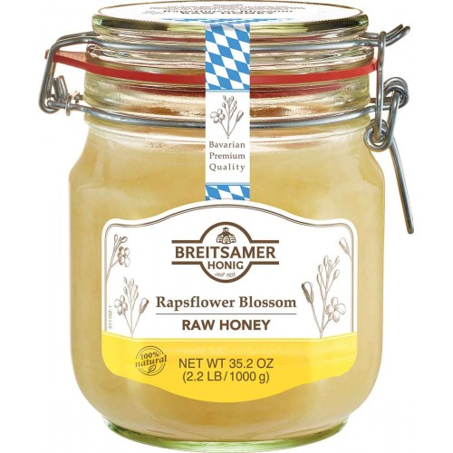 Breitsamer Creamy Rapsflower Honey Large Jar