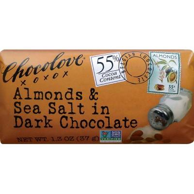 Chocolove Almonds & Sea Salt in Dark Chocolate Mini Bar
