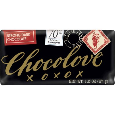 Chocolove 70% Strong Dark Chocolate Mini Bar