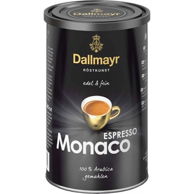 Dallmayr Espresso Monaco Ground Coffee Tin