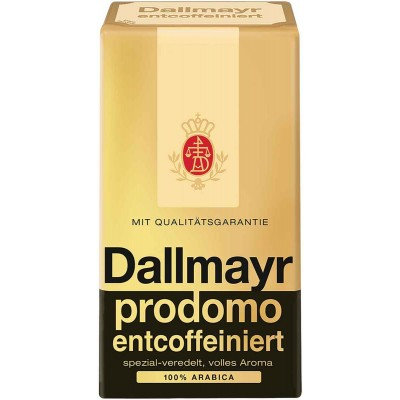 Dallmayr 17.6 oz Prodomo Decaffeinated Ground Coffee