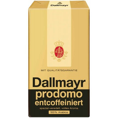 Dallmayr 8.8 oz Prodomo Decaffeinated Ground Coffee