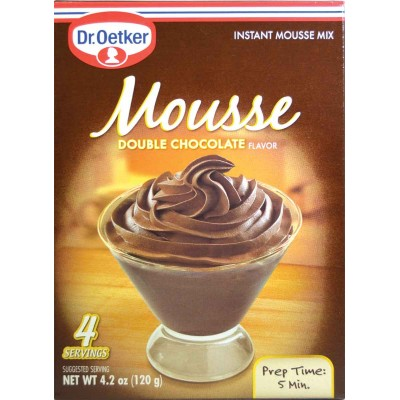 double chocolate dr oetker