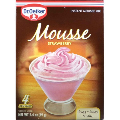 Dr Oetker Strawberry Mousse