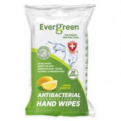 Evergreen Antibacterial Wipes