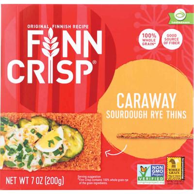 Finn Crisp Caraway Thin Crisp