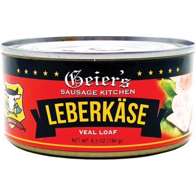 Geiers Leberkase Veal Loaf Tin