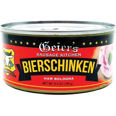 Geiers Bierschinken Tin