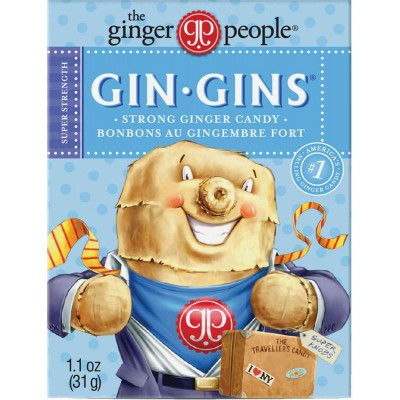 Ginger People Gin Gin Boost Travel Pack