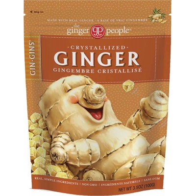 Ginger People Crystalized Ginger Candy Bag
