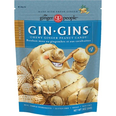Ginger People Peanut Ginger Chews Bag