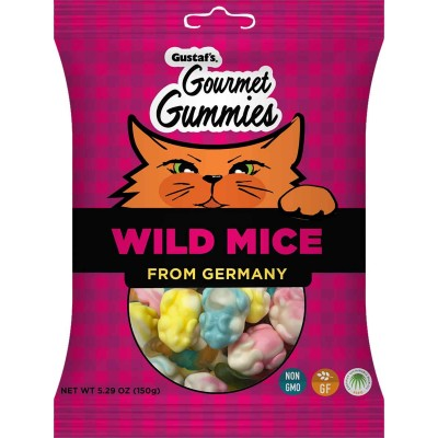 Gustaf's Wild Mice Gummies Bag