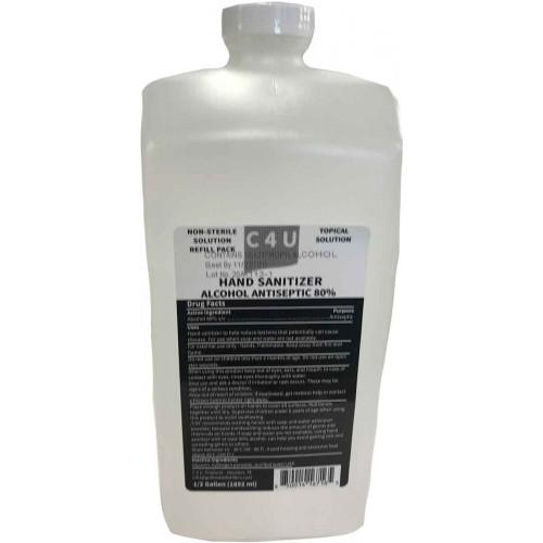 C4U Hand Sanitizer 1/2 Gallon
