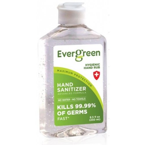 Evergreen Hand Sanitizer 70% Alcohol