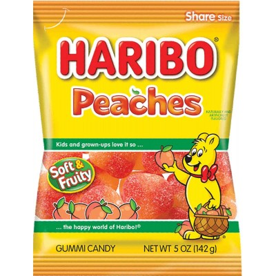 Haribo Peaches Bag