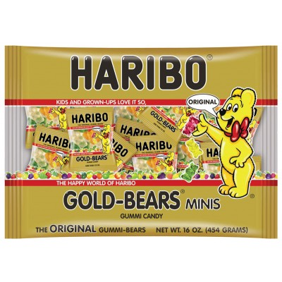 Haribo Gold Bear Mini Bags