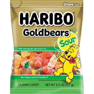 Haribo Sour Gold Bears Bag