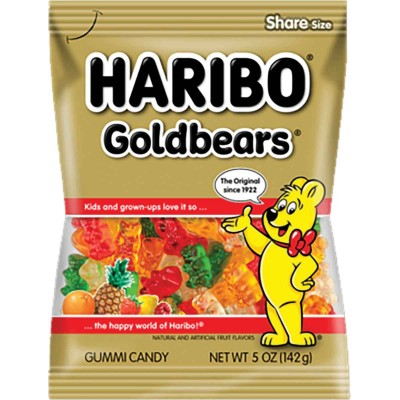 Haribo Gold Bears Bag