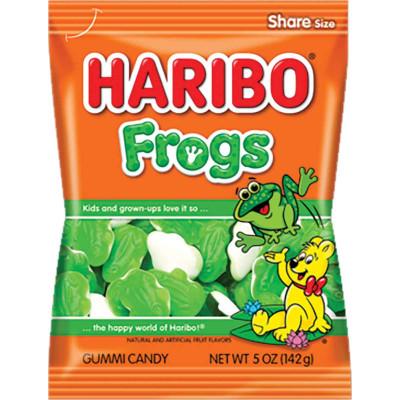 Haribo Frogs Bag