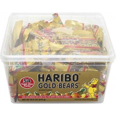 Haribo Gold Bear Snack Pack Tub