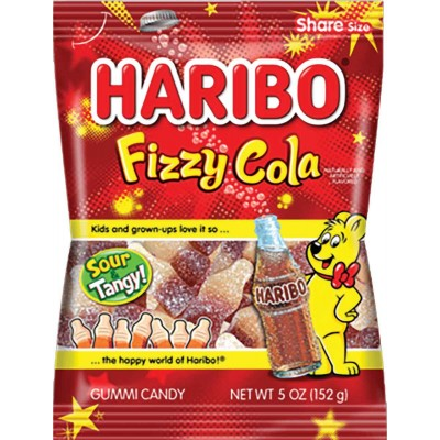 Haribo Fizzy Cola Bag