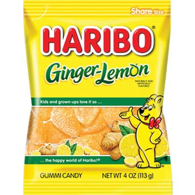 Haribo Ginger Lemon Bag