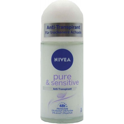 Nivea Sensitive Balm Roll On Deodorant