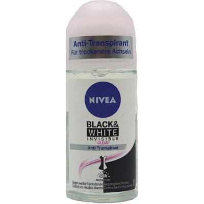 Nivea Pure Invisible Roll On Deodorant