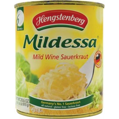 Hengstenberg Mildessa Bavarian Wine Sauerkraut