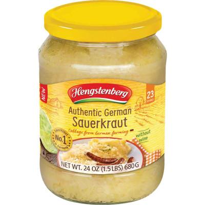 Hengstenberg Authentic German Sauerkraut