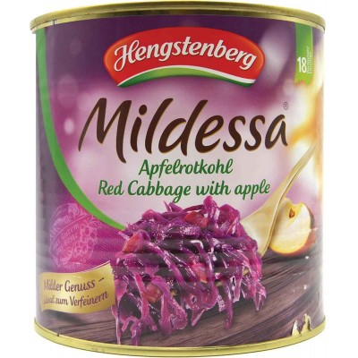 Hengstenberg Red Cabbage with Apple Bulk Tin