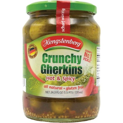 Hengstenberg Hot Crunchy Gherkins