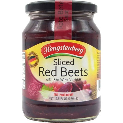 Hengstenberg Sliced Red Beets