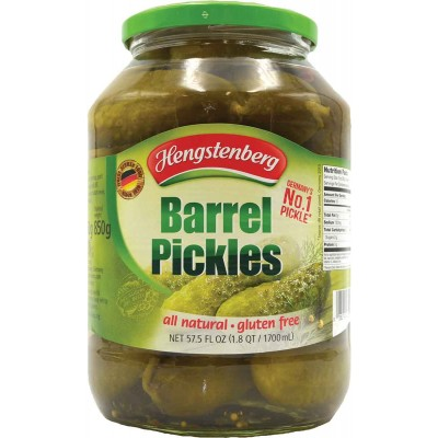 Hengstenberg Barrel Pickles