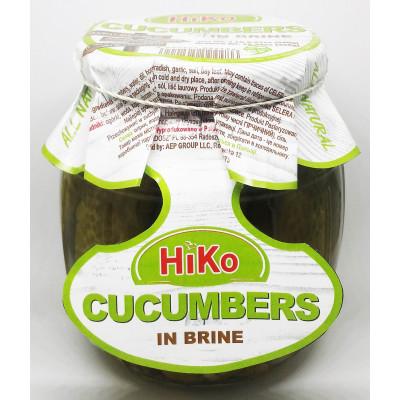 Hiko Non-Gmo Cucumbers in Brine Barrel