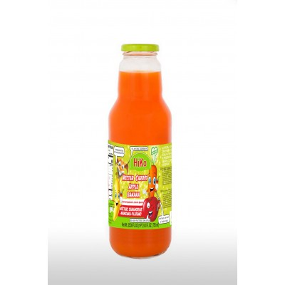 Hiko Non-Gmo Carrot Apple Banana Nectar