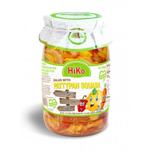 Hiko Non-Gmo Pattypan Squash Salad