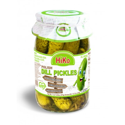 Hiko Non-Gmo Polish Dill Pickles